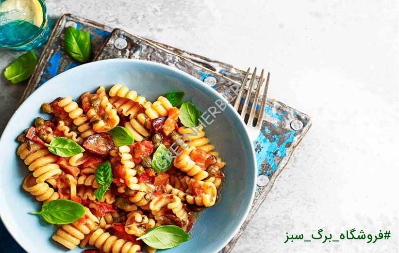 غذا با پاستا : دستور 2 غذای ساده و خوشمزه