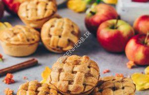 کوکی جودوسر و سیب : طعم بهشتی!