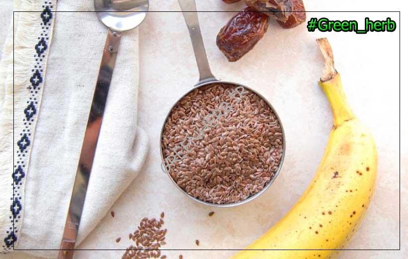طریقه مصرف بذر کتان برای لاغری شکم ، بدون عوارض!