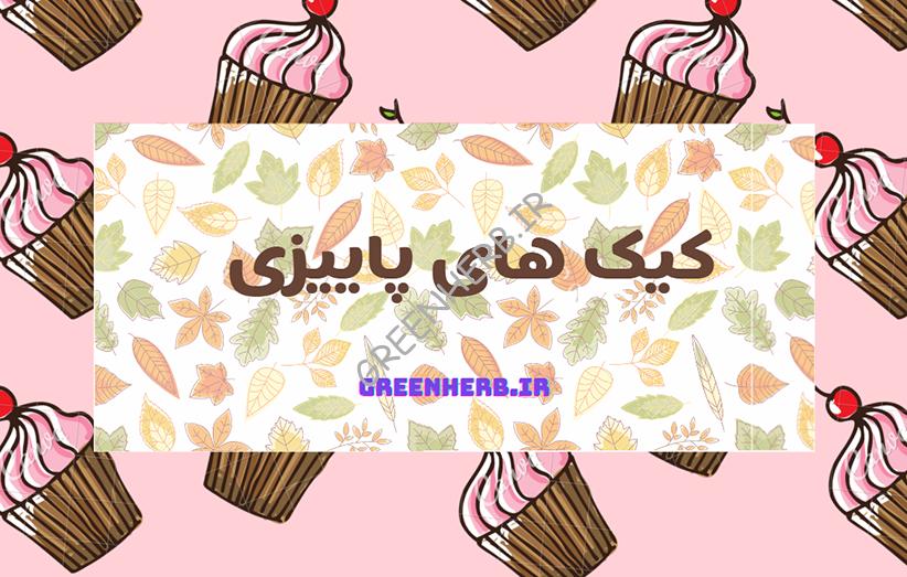کیک پاییزی : 7 دستور ساده و خوشمزه!