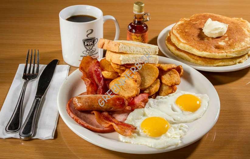 صبحانه و بدن سازی
