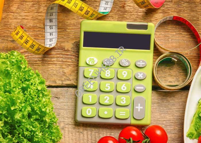 مصرف کالری در تغذیه لاغری