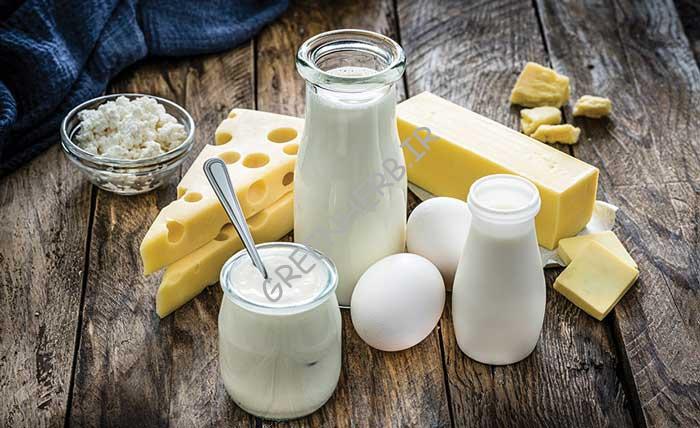 لبنیات برای تغذیه لاغری